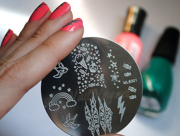 Lightning-Nail-Stamp-Plate-1 - Nails Redesigned