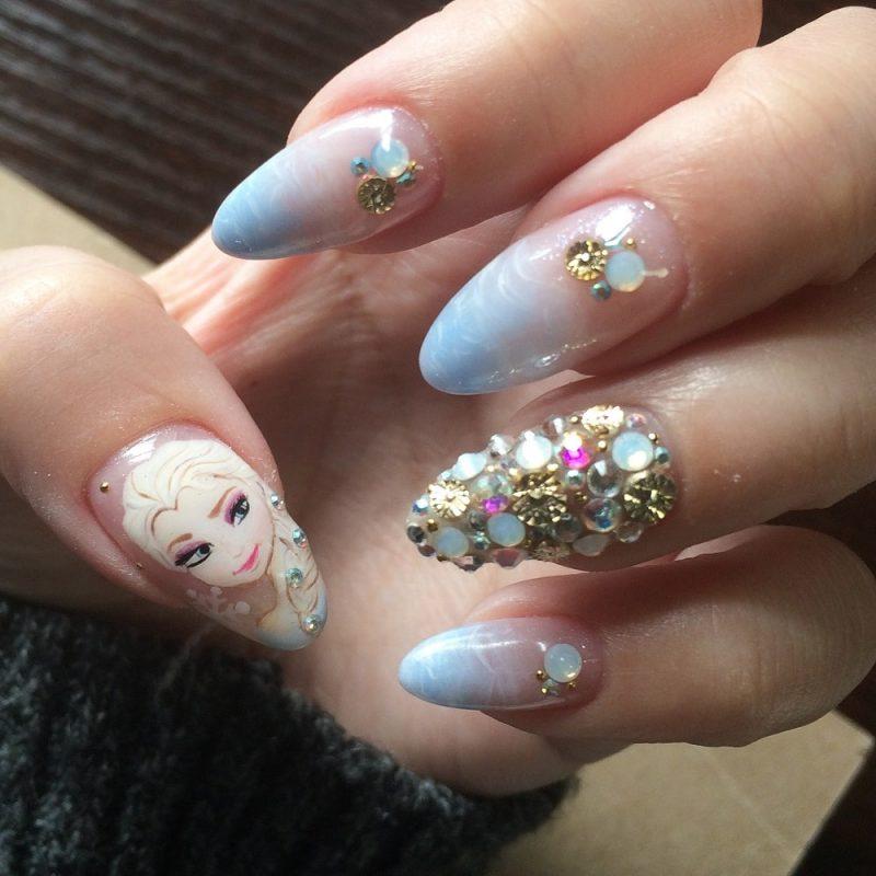 Floral Nail Design for Short Fingernails - Nails Redesigned