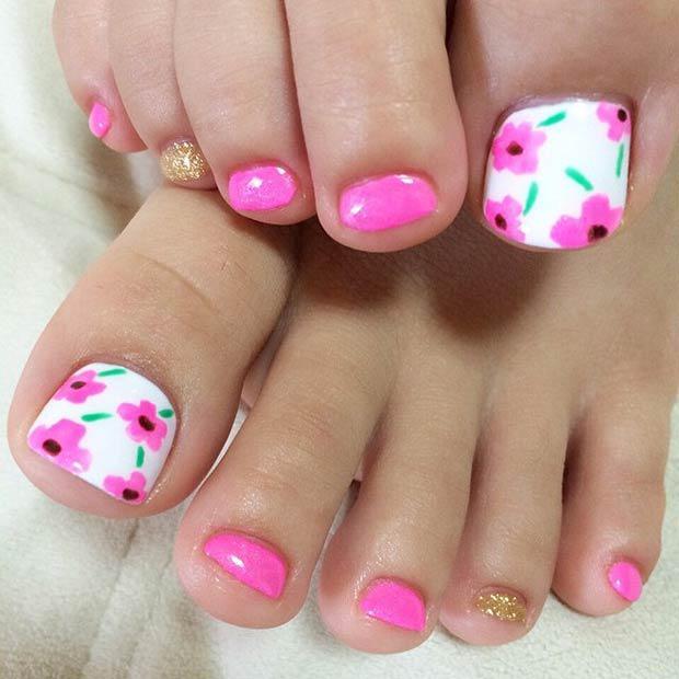 Best Summer Pedicure Art Nails Redesigned