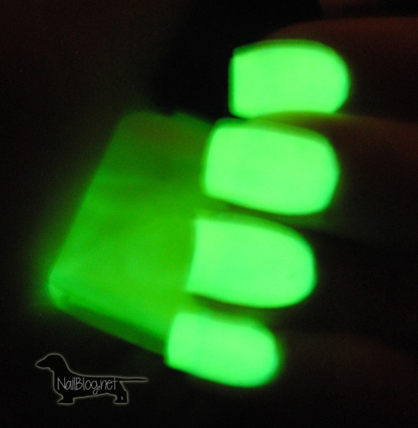 Glow-in-the-dark-nail-polish-swatches - Nails Redesigned