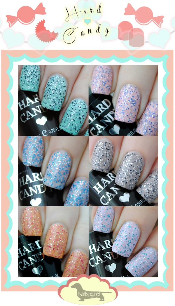 Hard Candy Candy Sparkle Collection Swatches Nails Redesigned