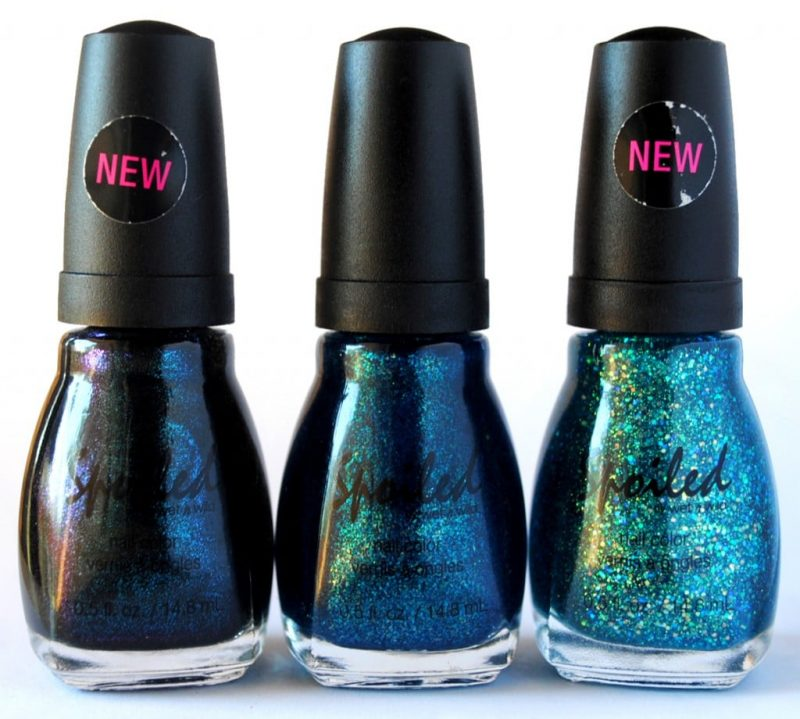 Wet N Wild Neon Nail Polish: Spoiled By Wet N Wild Nail Polish Swatches