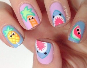 Playing With Your Nails With Playful Nail Art Patterns Nails