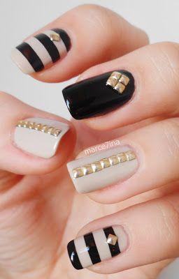 Glitter Rhinestone Gem Nails Nails Redesigned