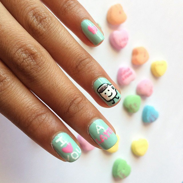 Playful Nail Art Designs for Valentine\'s Day - Nails Redesigned