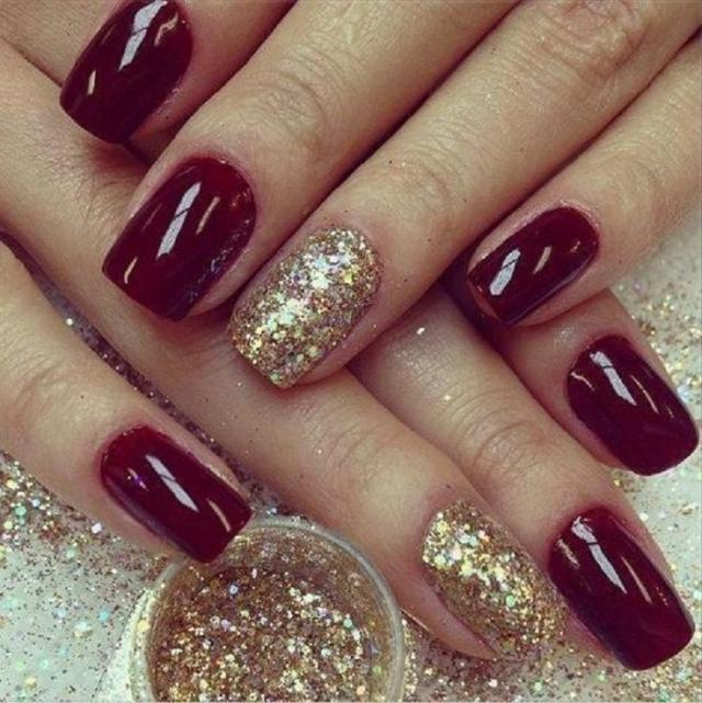 This is the best design for the girls who want different shades of their nails. Burgundy nail designs are available in the darker appearance beyond red and ...