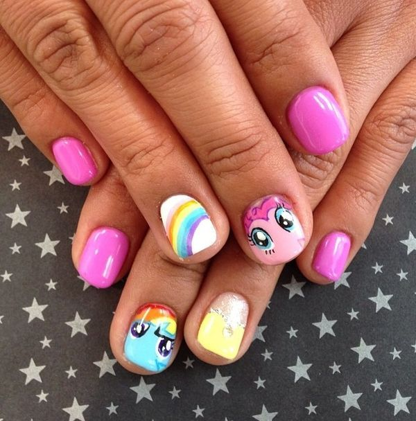 Cute Easy Nail Designs For Girls Nails Redesigned